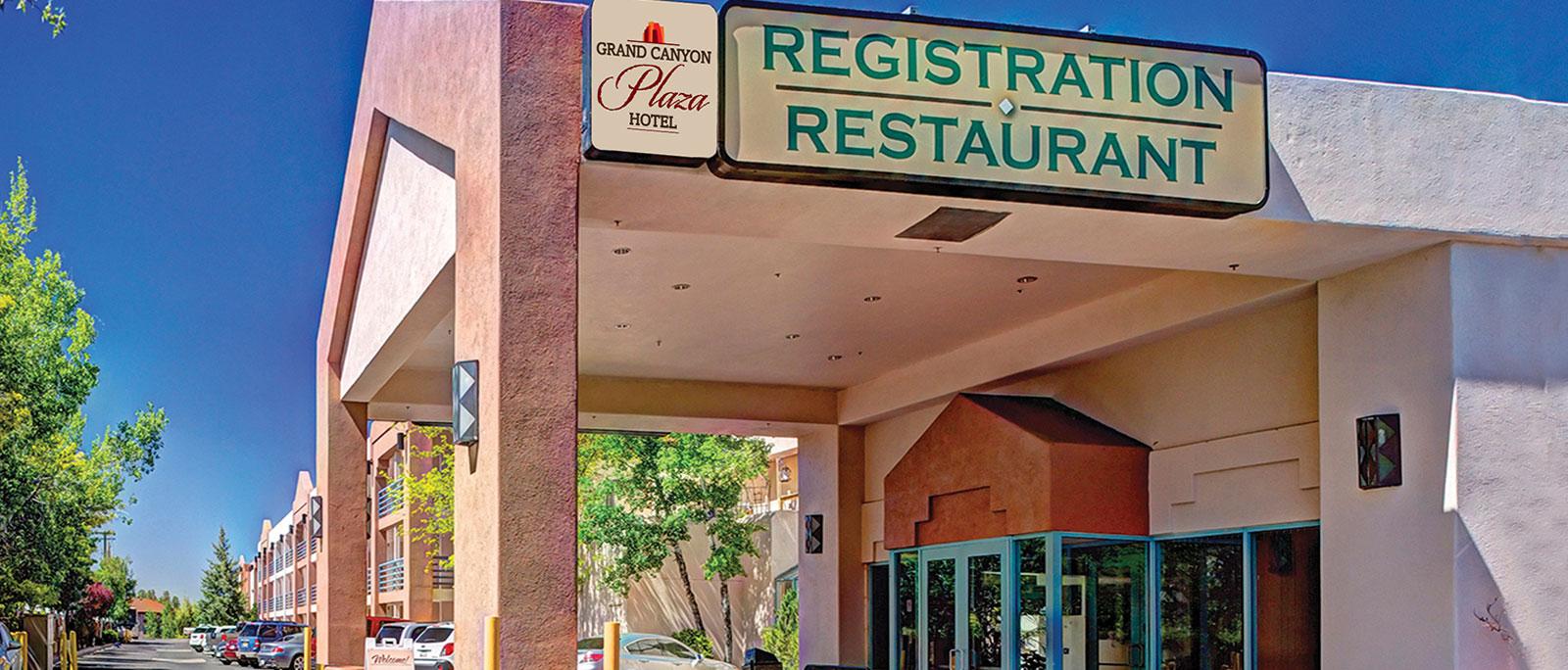 Location of Arizona Hotel