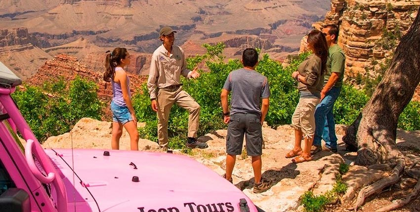 Jeep Tour Packages at Grand Canyon Arizona Hotel
