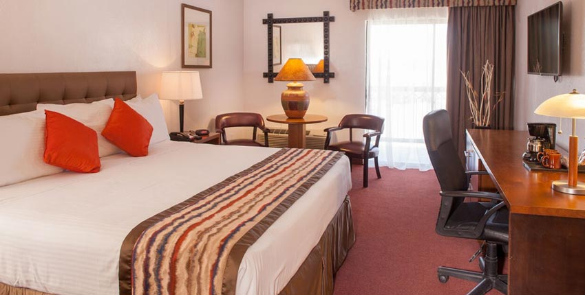 Grand Canyon Plaza Hotel Deluxe King Room Tusayan