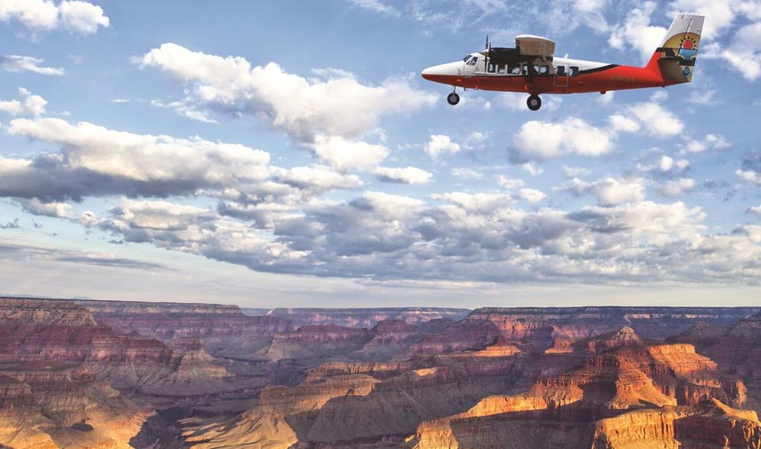 Grand Discovery Airplane Tour Package at Grand Canyon Arizona Hotel
