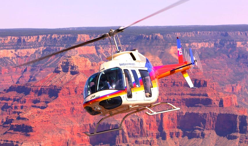 Helicopter Tour Packages in Grand Canyon Arizona Hotel