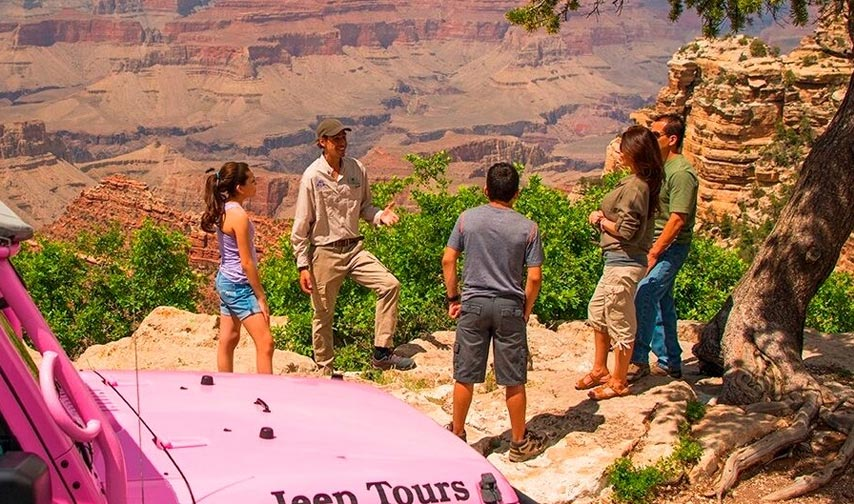 Jeep Tour Packages at Grand Canyon Plaza Arizona Hotel