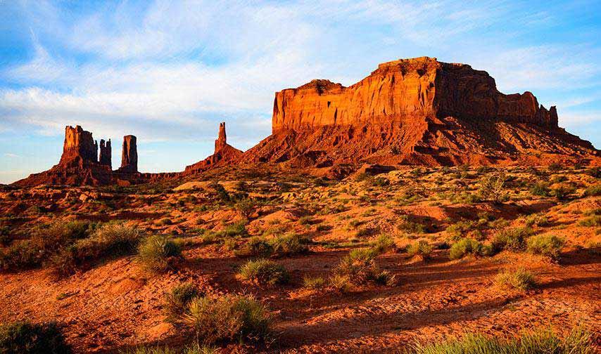 Monument Valley Navajo Park at Arizona